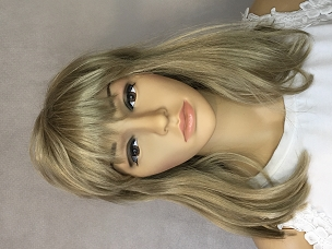 Dishwater Blond Wig